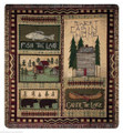 "LAKE HOUSE TAPESTRY THROW BLANKET - 50"" x 60"""