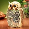 SNOWY OWL DUAL SPEED ELECTRIC TABLE FAN - PORTABLE FAN
