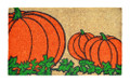 "GREAT PUMPKIN STENCILED COIR DOORMAT - 18"" X 30"" - DOOR MAT - WELCOME MAT"