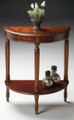ASCOTT DEMILUNE CONSOLE TABLE - HAND PAINTED ACCENT TABLE - FREE SHIPPING*