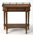 CHESHIRE INLAID CONSOLE TABLE - ENTRYWAY TABLE - UMBER FINISH - FREE SHIPPING*