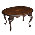 WESTCHESTER INLAID COFFEE TABLE - PLANTATION CHERRY FINISH - FREE SHIPPING*