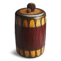 MOZAMBIQUE DRUM TABLE - SIDE TABLE - END TABLE - FREE SHIPPING*