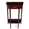 LEICESTER SQUARE INLAID CONSOLE TABLE - ENTRY TABLE - PLANTATION CHERRY FINISH - FREE SHIPPING*