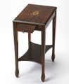 BRYN MAWR INLAID CHAIR SIDE TABLE - END TABLE - PLANTATION CHERRY FINISH - FREE SHIPPING*