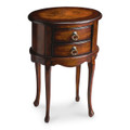 LANCASHIRE OVAL SIDE TABLE - OVAL END TABLE - PLANTATION CHERRY FINISH - FREE SHIPPING*