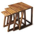 WESTFIELD MANOR NESTING TABLES - SET OF THREE - NEST OF TABLES - FREE SHIPPING*