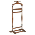 WESTBOURNE PARK VALET & SUIT STAND - CLOTHES STAND - PLANTATION CHERRY FINISH - FREE SHIPPING*