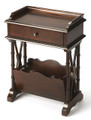 HARROWGATE MAGAZINE RACK TABLE - PLANTATION CHERRY FINISH - FREE SHIPPING*