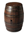 SONOMA WINE BARREL TABLE - STORAGE TABLE - SIDE TABLE - FREE SHIPPING*