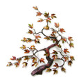 AUTUMNAL MAPLE TREE METAL WALL SCULPTURE - NATURE INSPIRED WALL DECOR
