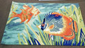 """SOUTH SEAS"" TROPICAL FISH RUG - 42"" x 66"" - INDOOR OUTDOOR RUG"