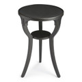 CHELSEA ROUND ACCENT TABLE - BLACK FINISH - FREE SHIPPING*