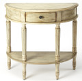 CHATEAUROUX HAND PAINTED DEMILUNE CONSOLE TABLE - FREE SHIPPING*