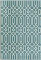 """ALHAMBRA INDOOR OUTDOOR GEOMETRIC DESIGN RUG - BLUE - 2'3"""" x 4'6"""""""