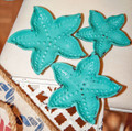 """KEY BISCAYNE"" DECORATIVE STARFISH TRAYS - SET OF THREE"