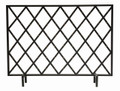 """BAMBOO GROVE"" DECORATIVE FIRE SCREEN - FIRE PLACE SCREEN"