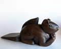 WOODEN SQUIRREL DOOR STOP - SQUIRREL DOORSTOP - SQUIRREL DOOR STOPPER