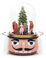 NUTCRACKER BALLET ROTATING MUSICAL SNOW GLOBE