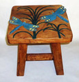 DANCING DRAGONFLY FOOTSTOOL