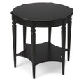 HAVERFORD HALL ROUND TABLE - BLACK LICORICE FINISH - FREE SHIPPING*