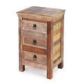 MONTEGO BAY RUSTIC SIDE TABLE - END TABLE - STORAGE CHEST - FREE SHIPPING*