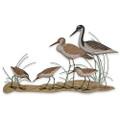 SHORE BIRDS WALL SCULPTURE - COASTAL WALL DECOR