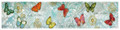 "BUTTERFLY COLLECTION TABLE RUNNER - 13"" X 72""L"