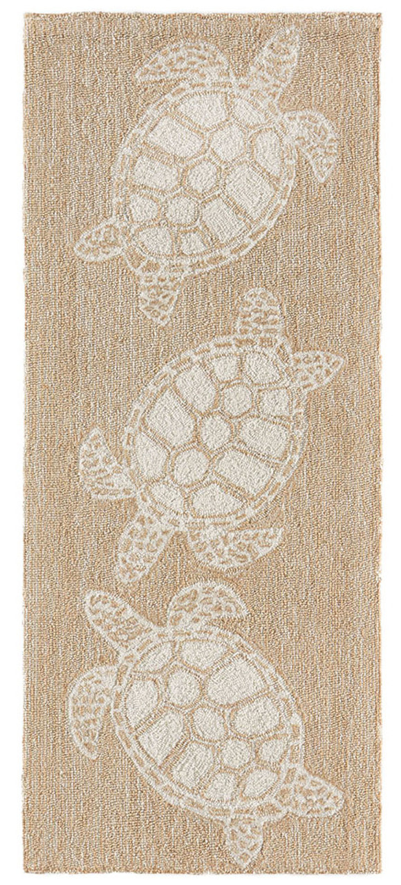 Turtle Key Sea Turtle Rug Kensington Row Runner Rugs