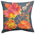 """FALLING LEAVES"" INDOOR OUTDOOR PILLOW - 18"" SQUARE"