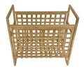 """WILLOW GREEN"" WOVEN MAGAZINE RACK - MAGAZINE HOLDER"