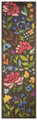 """CAMBRIDGE GARDEN"" HAND TUFTED WOOL RUG - 2'3"" x 8' RUNNER"