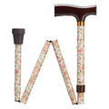 "WALKING STICKS - ""COVENTRY GARDENS"" ADJUSTABLE HEIGHT FOLDING CANE"