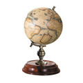 "GLOBES - OLD WORLD MERCATOR DESK GLOBE - 16TH CENTURY REPLICA MAP - 7.75""H"