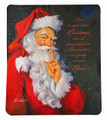 """NIGHT BEFORE CHRISTMAS"" FLEECE THROW BLANKET - 50"" X 60"""