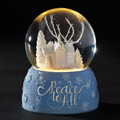 """PEACEFUL VILLAGE CHURCH"" LIGHTED MUSICAL SNOW GLOBE"