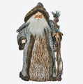"CHRISTMAS TREE TOPPERS - NORTH WOODS SANTA TREE TOPPER - 18""H"