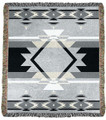 """BRYCE CANYON"" TAPESTRY THROW BLANKET - SOUTHWESTERN DECOR - WESTERN DECOR"