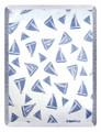 """GRAND REGATTA"" THROW BLANKET - 48"" X 60"" - SAILBOAT THROW - NAUTICAL DECOR"