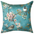 """IMPERIAL GARDEN"" INDOOR OUTDOOR PILLOW - 18"" SQUARE"