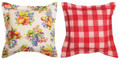 """SUMMER FRUITS"" INDOOR OUTDOOR REVERSIBLE PILLOW - 18"" SQUARE"