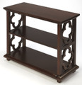 BOOKCASES - MARRAKESH BOOKCASE - BOOKSHELF - PLANTATION CHERRY FINISH - FREE SHIPPING*