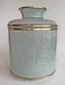 """SHANGRI-LA"" CELEDON PORCELAIN TISSUE DISPENSER - TISSUE HOLDER - TISSUE COVER"