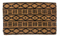 """TIMBUKTU"" MUD CLOTH DESIGN COIR DOORMAT - 18"" X 30"" - DOOR MAT"
