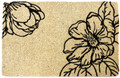 "DOOR MATS - MAGNOLIA BLOSSOM COIR DOOR MAT - 22"" X 35"" - DOORMAT - WELCOME MAT"