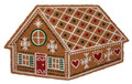 "GINGERBREAD HOUSE COIR DOORMAT - 18"" X 30"" - CHRISTMAS WELCOME MAT"