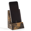 DESK ACCESSORIES - TIGER EYE MARBLE DESKTOP CELL PHONE HOLDER - TABLET HOLDER