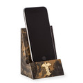 DESK ACCESSORIES - MEDICAL CADUCEUS TIGER EYE MARBLE DESKTOP CELL PHONE HOLDER