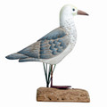 SEAGULL TABLETOP SCULPTURE - NAUTICAL DECOR