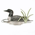 WALL ART - COMMON LOON WALL SCULPTURE - LAKE & LODGE WALL DECOR